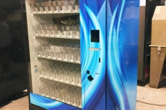 Custom Vending Machine Vinyl Wrap