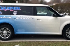 Custom Champion Ford Vinyl Wrap