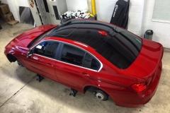 BMW 3-Series Gloss Black Roof Wrap
