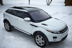 Range Rover Evoque Gloss Wrap Roof and Spoiler Wrap