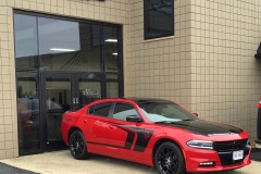 Dodge Charger Roof and Trunk Wrap