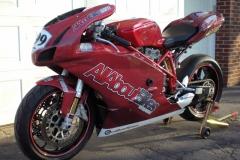 Custom Motorcycle Wrap